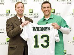 Nutrilite sponsored Kurt Warner as its spokesman!!