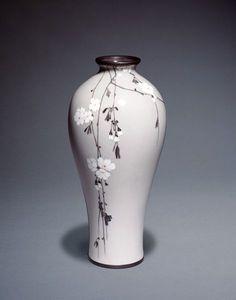 Japanese Cloisonné Vase by Namikawa Sosuke