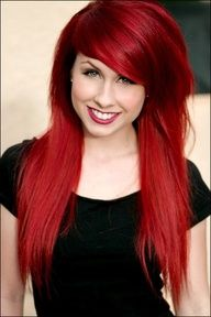 I want to dye my hair Red one day...