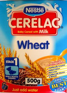 Used to lover Cerelac as a breakfast cereal - even as a teenager!