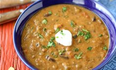 Hearty Lentil and Black Bean Soup with Smoked Paprika - vegetarian and ...