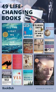 49 Books and Novels That Everyone Should Read in Their Lifetime books that will change our life, best inspirational books, motivational books, nonfiction boosk worth reading Book Club Books, Book Lists, My Books, Reading Books, Book Clubs, Oprah Book Club List, Teen Books, Book Nerd, Books Everyone Should Read