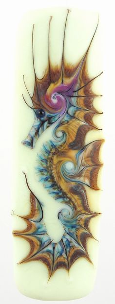 Good candidate for a tattoo. Art by Kimberly Affleck Lampwork