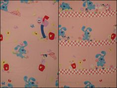 Blue's Clues Twin sheet set -includes flat, fitted, and pillowcase