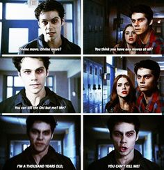 Honestly, Dylan was absolutely brilliant portraying both dark and normal Stiles. Absolutely brilliant <3