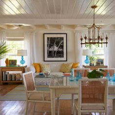 Glamorous Retreats, By Jan Showers  The Glam Pad Dining Room Design,  Interior Design