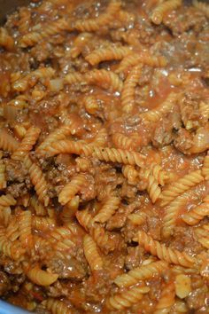 Pasta Recipes, Dinner Recipes, Cooking Recipes, Hamburger Helper Maison, Low Budget Meals, Budget Recipes, One Pot Pasta, Ground Beef Recipes, Kids Meals