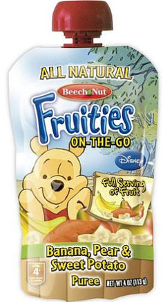 Free Beech Nut Stage 4 Fruities Pouches