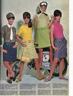 """60s """"poorboy"""" knit tops -  wore poorboys with flowered skirts and a wide white belt!!"""