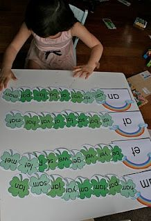 love this word families activity