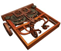 Leonardo da Vinci designed the first self-propelled cart capable of moving without being pushed or pulled manually. Your teens will enjoy building this model of da Vinci's cart and learning about this amazing historical design!