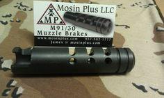 Mosin Nagant M 91/30 Muzzle Brake Mosin Nagant M44 Muzzle Brake | $50, NOTE:  Muzzle breaks can cause SERIOUS hearing loss