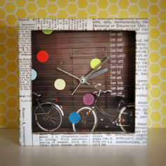 Cool clock, altered by Marsha Valk