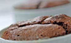 Cake met chocolade