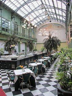 Wintergarden, Hotel Krasnapolsky Amsterdam