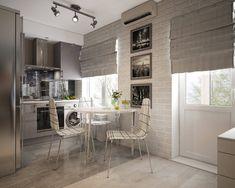 Дизайн однокомнатной квартиры в хрущевке. (De «Студия 3.14»)