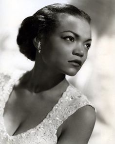 "Eartha Kitt 1960s- I love her kitty voice so sultry meow! LOL, she voice as Yzma in the Disney The Emperor's New Groove and her infamous Christmas hit song ""Santa Baby""."