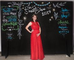 Colt foto pentru petrecerea dintre ani Photo corner for the new year's party ! Photo Corners, Chalkboard Art, New Years Party, Formal Dresses, Design, Fashion, Fall Chalkboard Art, Dresses For Formal, Moda