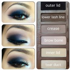How to use the Naked Basics Palette - dunno if I could handle this level of intensity but it sure is purdy.