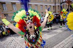 Samba dance in Helsinki ahead of WC football | culture | Finland Times