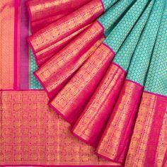 Gold Silk Saree, Purple Saree, Wedding Silk Saree, Kanjivaram Sarees Silk, Indian Silk Sarees, Pure Silk Sarees, Half Saree Designs, Pattu Saree Blouse Designs, Fancy Sarees Party Wear
