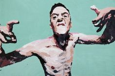"""Saatchi Online Artist laura zimmermann; Painting, """"Watkin Tudor Jones"""" #art"""