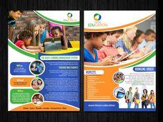 Check out this Flyer Design for Sarah ABDEL-RAHMAN | Design: #ESolz Technologies, Designer: 4305973, Tags: Education, Elementary, School