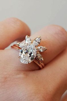 33 TOP Engagement Ring Ideas ❤️ top engagement ring ideas floral wedding band diamond ❤️ See more: http://www.weddingforward.com/top-engagement-ring-ideas/ #weddingforward #wedding #bride #engagementrings