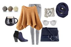 """""""Untitled #983"""" by doinacrazy ❤ liked on Polyvore featuring Chloé, J Brand, rag & bone, Sara Designs and BP."""