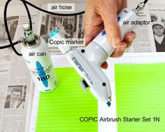 In Detail: Product Reviews & News - Copic Airbrush by Jean Manis