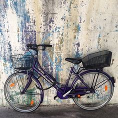 #picture #perfect #bicycle and #faded #streetart #love #Italian #style