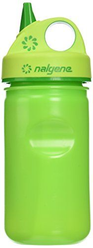 Nalgene HDPE GripNGulp Water Bottle Slime Green 12 ounces * Be sure to check out this awesome product.Note:It is affiliate link to Amazon.