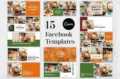Facebook Cover Template, Facebook Timeline Covers, Social Media Template, Social Media Design, Canvas Website, Online Cooking Classes, Lorem Ipsum, Templates, Memories