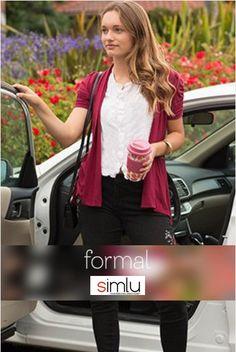 $17.99 Womens Open Front Cardigan Ruched Short Sleeve Asymmetric Hem Flyaway Cardigan - USA