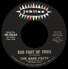 bare facts - bad part of town /// listen to it on http://radioactive.myl2mr.com /// plattenkreisel - circular record shelf, dj booth, atomic cafe, panatomic, records, rod skunk, vinyl, raregroove, crate digging, crate digger, record collection, record collector, record nerd, record store, turntable, vinyl collector, vinyl collection, vinyl community, vinyl junkie, vinyl addict, vinyl freak, vinyl record, cover art, label scan