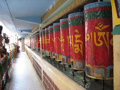 at the Tsuglagkhang, HH Dalai Lama's temple Dharamsala, McLeod Ganj India Travel, Us Travel, Places To See, Places Ive Been, Bhutan, Indian Eyes, Dharamsala, Veni Vidi Vici, Nepal