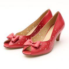 Stylische Pumps / Sandaletten von Ganni in Rot Gr. EU 39 - feminin und extravagant