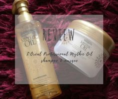 REVIEW: L'oreal Professional Mythic Oil Shampoo and Masque