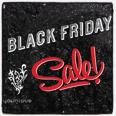 Don't miss out on the Black Friday sale at Younique!!