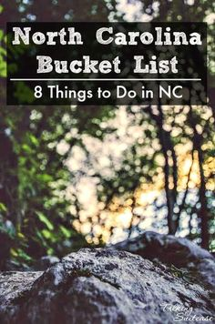 From exploring marshlands to white water rafting, NC truly has a little bit of everything for everyone!  Browse through our North Carolina Bucket List for a list of awesome things to do in NC.