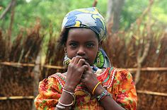 Africa | Refugee from Central African Republic in a refugee camp in southern Chad.  | © Nate Miller