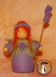 Blumenkinder-Werkstatt: Lavendel, Lavender