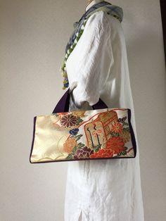 帯バッグ〜花ぐるま〜の画像4枚目