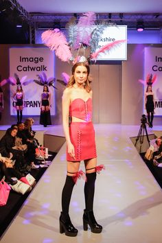 Warwickshire College - Graduate Catwalk A on the Image Catwalk at Clothes Show Live