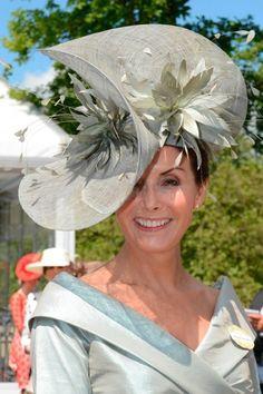 Royal Ascot 2012 - Grey hat
