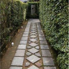 tofuku garden in kyoto paths and pavers via Gardenista