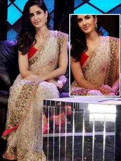 Fab Katrina Kaif Net Saree