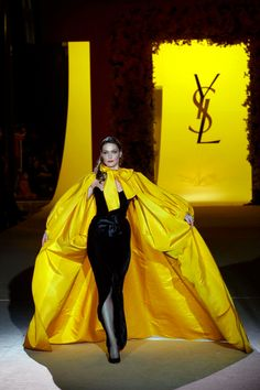 Saint Laurent is returning to couture for the first time in over 10 years. Creative director Hedi Slimane has already created his debut haute couture pieces for the French fashion house. Find out more here.