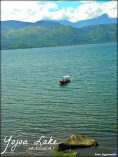 Image of Yojoa Lake in western Honduras. Foto: Gerson Gómez