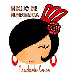 Dibujos de flamencas divertidas buscar con google for Camisetas hippies caseras